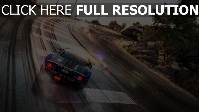 fond d'écran hd need for speed voitures de sport autoroute