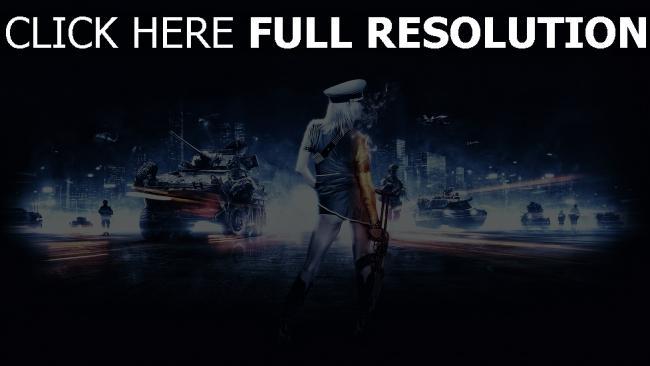 fond d'écran hd battlefield 4 blond fusil d'assaut