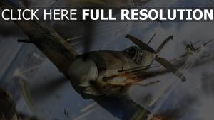 war thunder fighter tirer combat