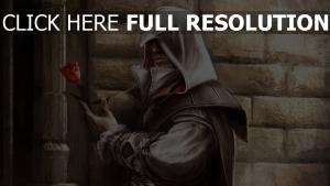 assassin's creed rose capuchon élégant,