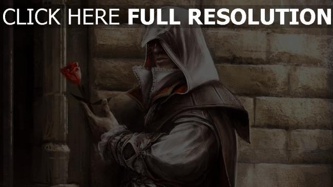 fond d'écran hd assassin's creed rose capuchon élégant,