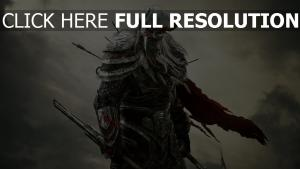 the elder scrolls online guerrier casque nuageux