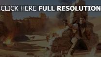 uncharted desert nathan drake pistolet