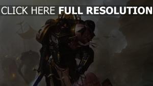 warhammer 40000 adeptus astartes armure énergétique