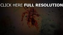 assassin's creed 3 connor kenway courir graffiti
