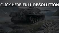 world of tanks réservoir tigre montagne