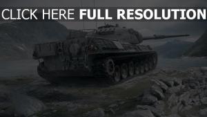 world of tanks réservoir tigre montagne