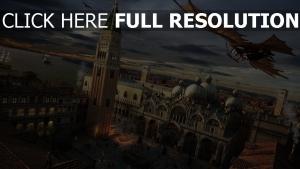 assassin's creed venise vol cathédrale