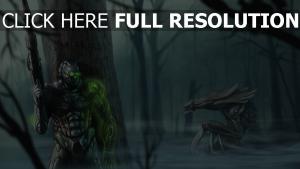starcraft 2 fantôme forêt hydralisk