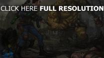 fallout 4 mutant ruines combat