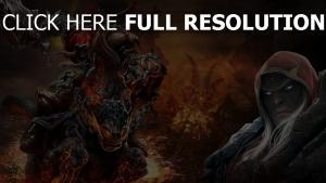 darksiders cavaliers de l'apocalypse feu art
