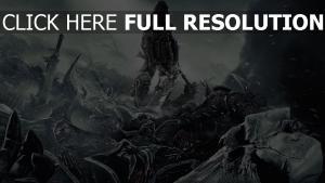 darksiders tempête de neige champ de bataille