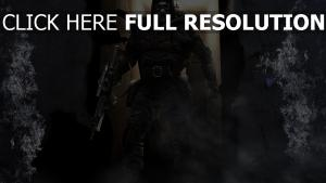 stalker fusil d'assaut exosquelette