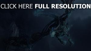 dragon glace hiver ciel