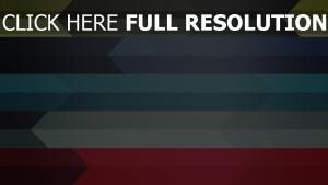 flèche ligne multicolore