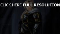chevalier blond manteau charmant
