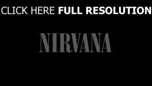 nirvana logo de la marque
