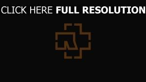 rammstein logo de la marque