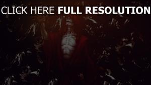 morts-vivants lich manteau rouge