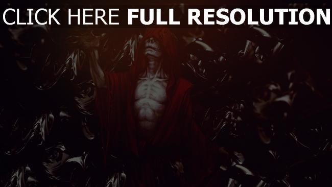 fond d'écran hd morts-vivants lich manteau rouge