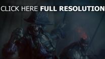 squelette pirate averse