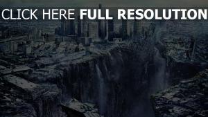 2012 faille ruines mégalopole