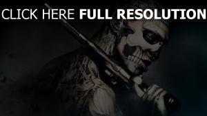 47 rōnin fantôme tatouage pistolet