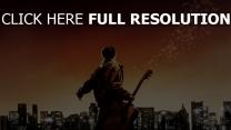 august rush guitare notes