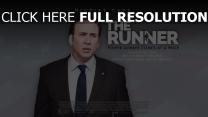the runner affiche nicolas cage