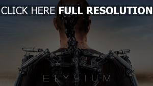 elysium exosquelette matt damon