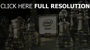 intel processeur d'échecs