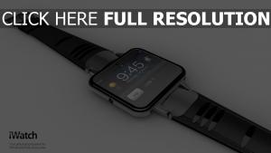 iwatch apple montre-bracelet