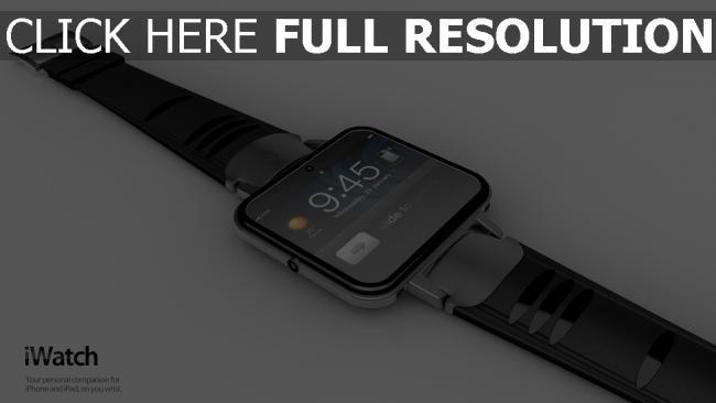 fond d'écran hd iwatch apple montre-bracelet