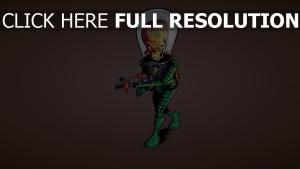 mars attacks alien soldat combinaison de protection