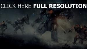 rives du pacifique robot géant averse