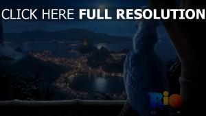 rio film d'animation ara de spix