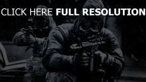 28 semaines plus tard combinaison de protection fusil d'assaut