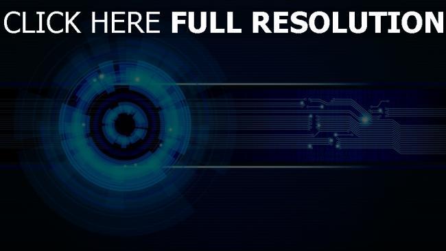 fond d'écran hd moteur neon plan bleu
