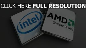 processeur inscription logo de la marque,