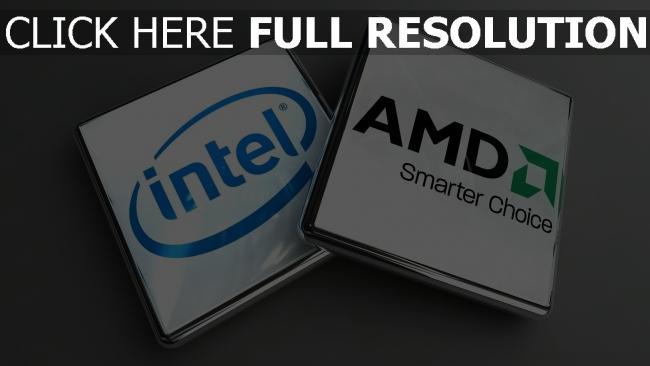 fond d'écran hd processeur inscription logo de la marque,