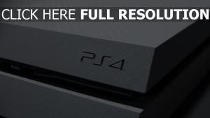 playstation 4 logo de la marque gros plan