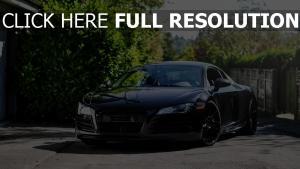 audi r8 voiture sportive de prestige vue de face
