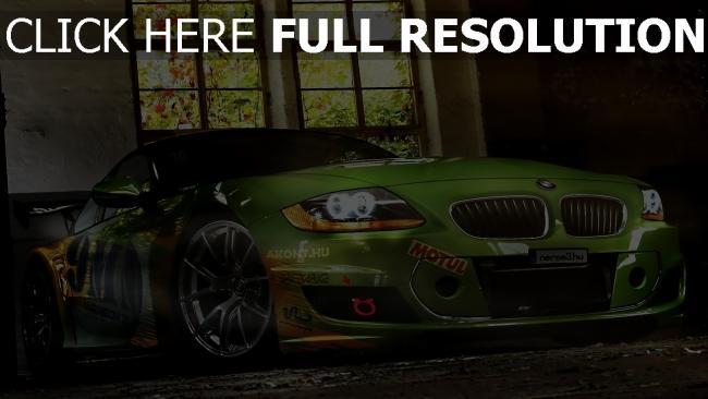 fond d'écran hd bmw m4 vue de face voiture de sport phares