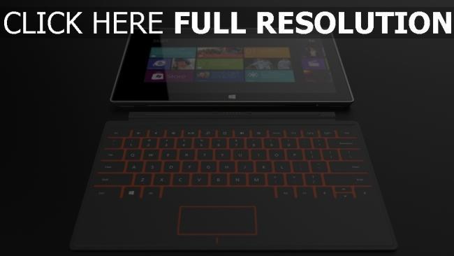 fond d'écran hd tablette élégant clavier