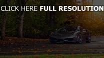 ferrari f430 voiture sportive de prestige automne