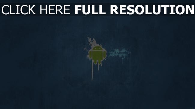 fond d'écran hd android minimalisme logo de la marque