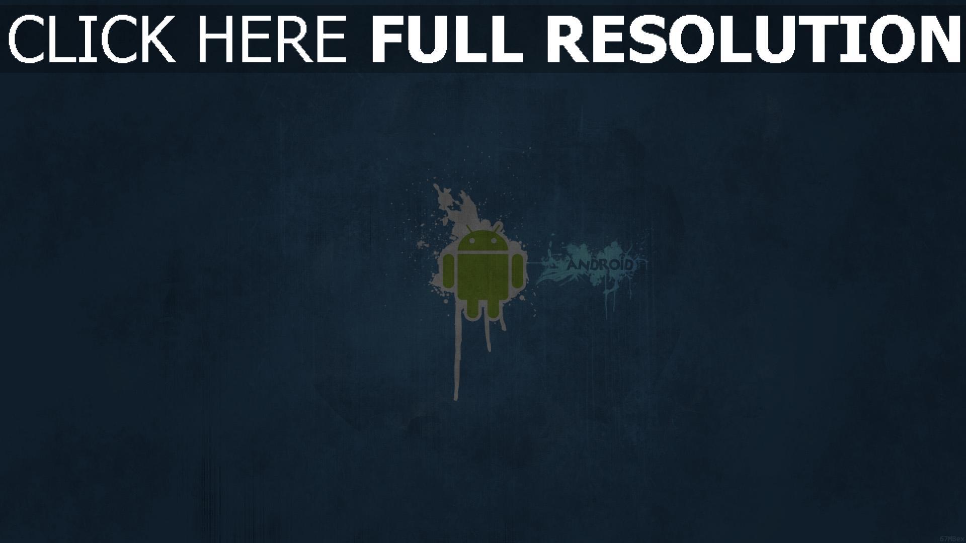 fond d'écran 1920x1080 android minimalisme logo de la marque