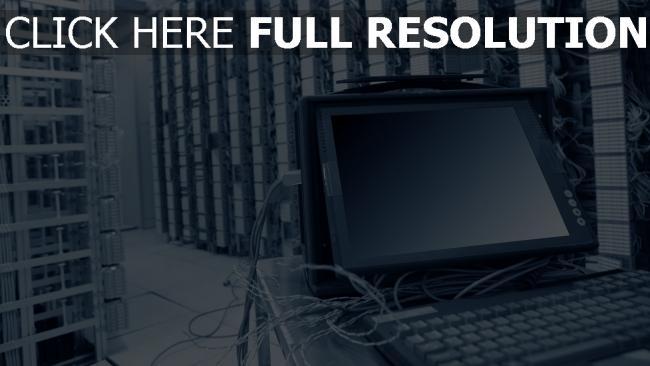 fond d'écran hd serveur ordinateur puissant