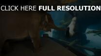 éléphant phoque aquarium amis