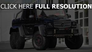mercedes classe g pick-up vus